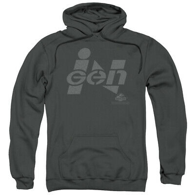 Jurassic Park Movie Ingen Logo Licensed Adult Pullover Hoodie