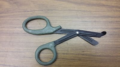 FULL TACTICAL BLACK EMT Shears Scissors Bandage Paramedic EMS Supplies 7.25 ""