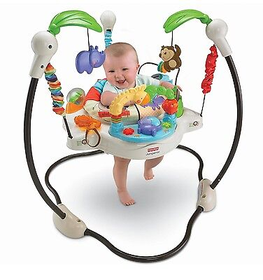 Fisher Price Jumper Park Walker Gym Baby Infant Bouncer Toddler Walk Activity