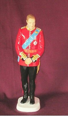 NIB Signed Lt.Ed ROYAL DOULTON Prince William Wedding Day Figure Figurine HN5573