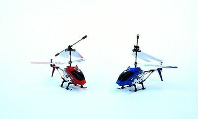 SYMA S107 3.5 CHANNEL 3CH MINI METAL REMOTE CONTROL RC 2 HELICOPTERS GYRO BULK !