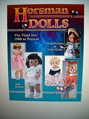 HORSMAN DOLLS PRICE GUIDE $$$ ID COLLECTOR'S BOOK Poor Pitiful Pearl Cindy