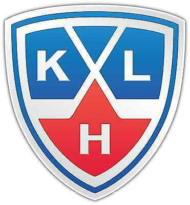 "Kontinental Hockey League KHL Car Bumper Window Locker Sticker Decal 4""X5"""