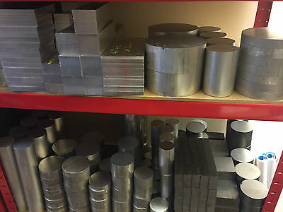 Various Sizes Of Aluminium Bar Billets 2'' 3.5'' 3'' 4'' + More! Engineering