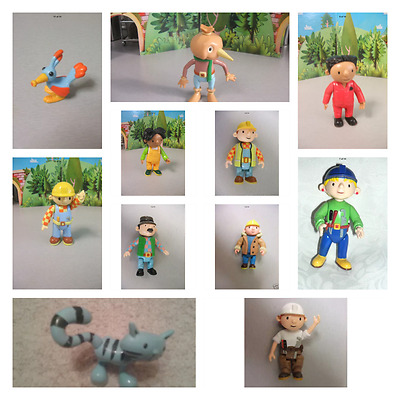 Selection Of Bob The Builder Figures