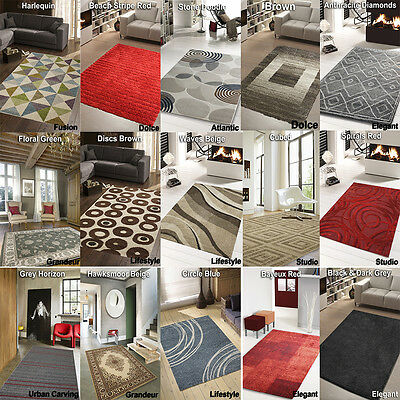 Clearance Rugs -  Cheap Rugs Large Medium Soft - Living Room - New Rug