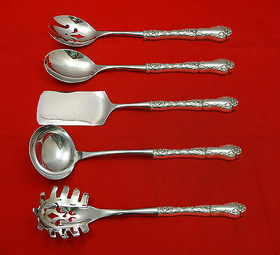 Poppy by Gorham Sterling Silver Hostess Set 5pc HHWS  Custom Made