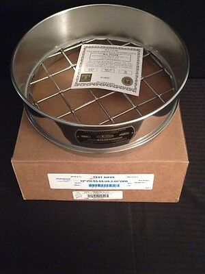 """NEW FISHERBRAND U.S.A. Test Sieve 2"""" 50mm ASTM E-11 12""""-FH-SS-SS-US-2.00""""OPG"""