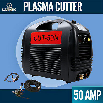 50A Lumik Plasma Cutter DC IGBT Inverter Welder Portable Gas/Air Cutting Display