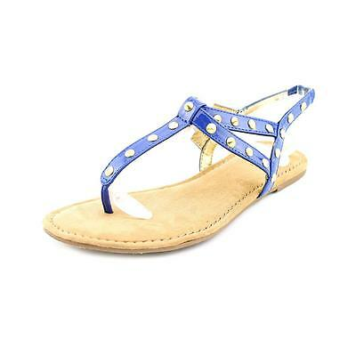 Style & Co Zoee Womens Size 6 Blue Thongs Sandals Shoes