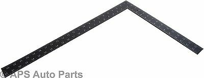 """New 16"""" x 24"""" Steel Roofing Roofers Square Carpenters Wood Working Metric Inch"""