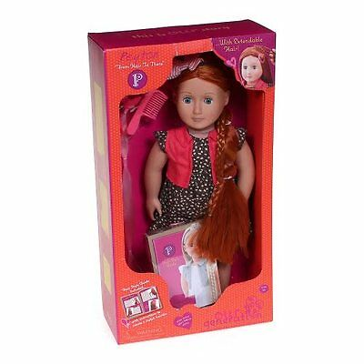 Our Generation 18 Inch Doll Girl Red Head Hair Grow Styling Doll NEW