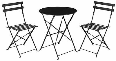 gartenm bel balkonset bistroset balkon bistro set sitzgruppe aluminium garten. Black Bedroom Furniture Sets. Home Design Ideas