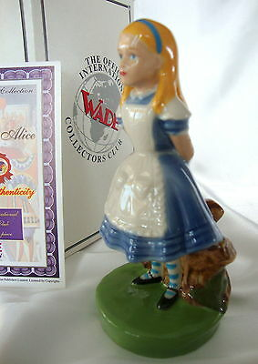 WADE ALICE - FROM  ALICE IN WONDERLAND - MIB WITH CERT. 1999