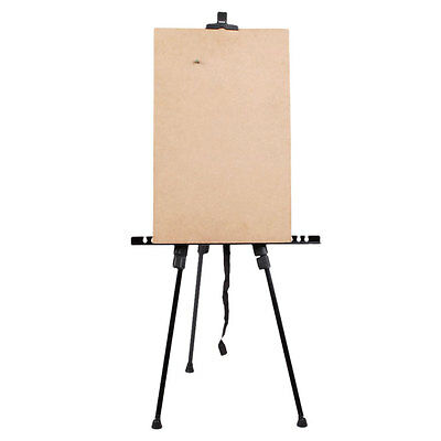 Folding Artist Telescopic Field Studio Painting Easel Light Weight And Carry Bag