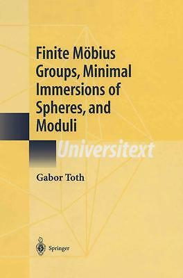 Finite Möbius Groups, Minimal Immersions of Spheres, and Moduli - G. Toth