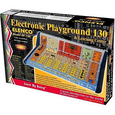 NEW Elenco 130-in-1 Electronic Playground and Learning Center No Soldering