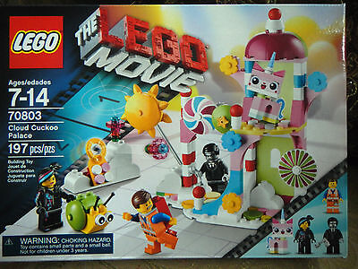 LEGO the Lego Movie Cloud Cuckoo Palace (70803),ages 7-14, 197 pieces, New