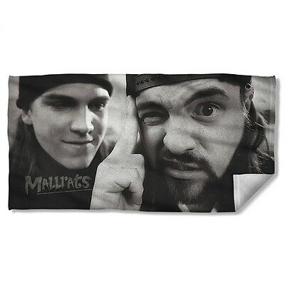 """Mallrats Movie Jay And Silent Bob Force Licensed Beach Towel 30"""" X 60"""""""