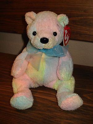 TY Beanie Baby Mellow Bear Retired 5/21/01 current only appx 2 1/2 months