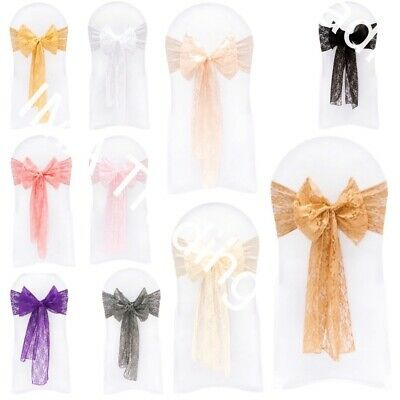 LACE SASH, LACE SASHES 22cm X 270cm, AVAILABLE IN MANY COLOURS UK SELLER
