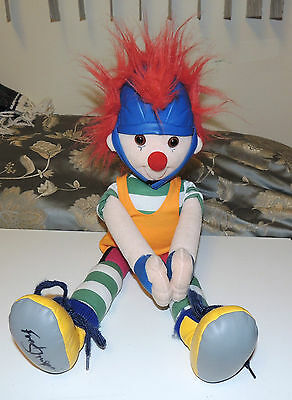 """MAJOR BEDHEAD DOLL BIG COMFY COUCH - AUTOGRAPHED Rare HTF Plush Toy 24"""" SIGNED!!"""