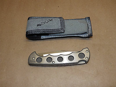 BUCK 560 TITANIUM, 1989 date code, very nice used knife, hard to find