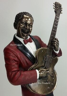 JAZZ BAND COLLECTION - BASS GUITAR PLAYER Home Decor Statue Sculpture Figurine
