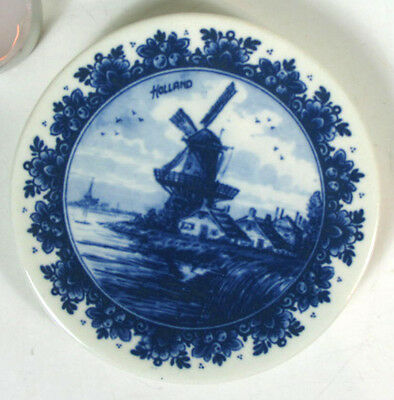 Agro Delft Blue Mini Plate Holland Hand Painted