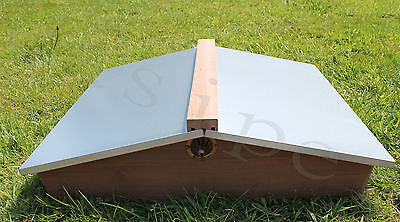 National Beehive Gabled Roof Cedar Beekeeping Bee Hive New 268