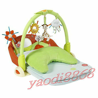 HOt-Sophie the giraffe Evolu'two - Baby Play Gym Infant Toys Activity Playmat