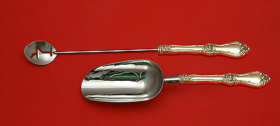 Royal Rose by Wallace Sterling Silver Bar Set 2pc HHWS  Custom Made