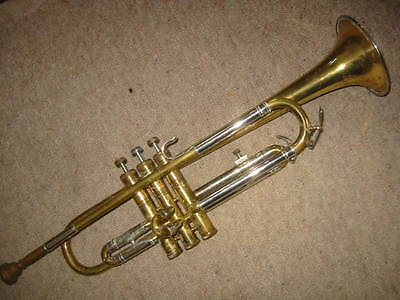 """Nice old trumpet  in   Bb """"National Musical supply Co LTD"""""""