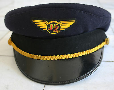 YUGOSLAVIA (Serbia) - Railroad Station Man / Dispatcher HAT/CAP/VISOR (Size 54)