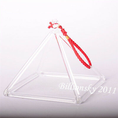 "Quartz Crystal Singing Pyramid 5"" --Perfect Healing Musical Instrument"