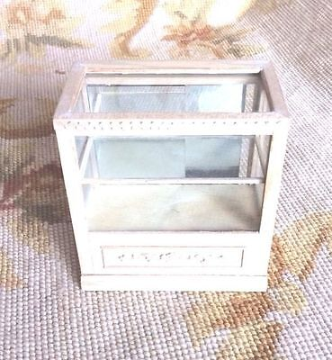 Bespaq Dollhouse Miniature Bookcase Shelf Hutch Cabinet Showcase Cupboard p268