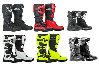 MX FLY Racing Maverik Motocross Boots Dirt Bike Riding ATV Adult Youth Kids 2018