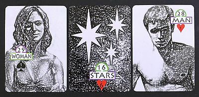 The Black and White Drawing Lenormand Fortune Telling Oracle Cards Deck