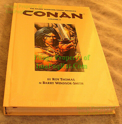 Conan The Barry Windsor-Smith Archives #2 HC (2010) 1st Print NM Factory SEALED!