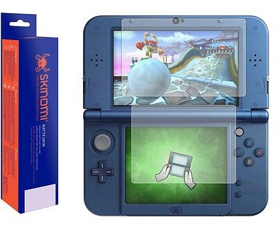 Skinomi Clear (MATTE) Screen Protector For The New Nintendo 3DS XL 2015
