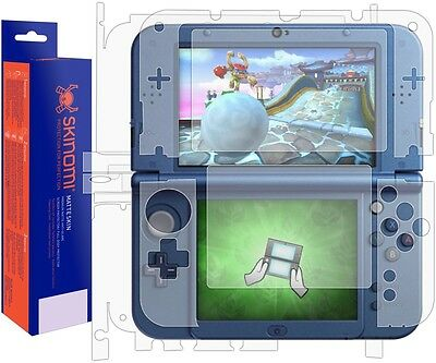 Skinomi (MATTE) Skin Protector Nintendo 3DS XL 2015 (2nd Gen) Full Coverage