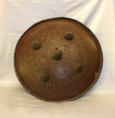 Antique Original Perfect Handmade Turkoman War Shield
