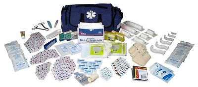 On Call First Aid Responder Kit W/Bag  Ems Paramedic Stocked Medical Emergency