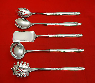 Willow by Gorham Sterling Silver Hostess Set 5pc HHWS  Custom Made