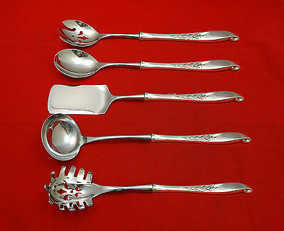 Wishing Star by Wallace Sterling Silver Hostess Set 5pc HHWS  Custom Made