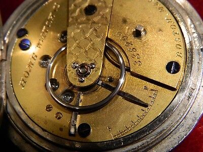 1867 Waltham (Home Watch Co.) 15 jewel KWKS under sprung PW Clam Shell Case