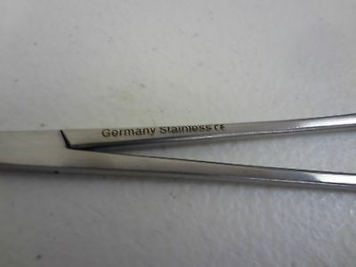 2 MICRO MOSQUITO HEMOSTAT FORCEPS Str & Cvd  German Stainless Steel CE Surgical