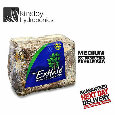 Exhale CO2 Bag Environment Control C02 Hydroponics Unis Grow Bloom