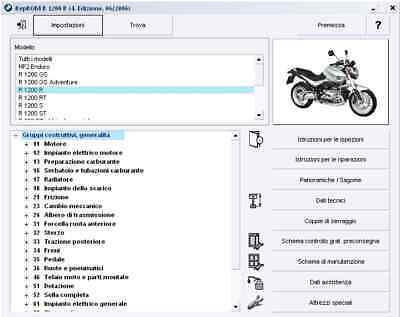 BMW R1200 GS R RT S ST HP2 R900 Manuale officina RepROM