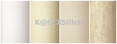 "15"" x 18"" 16 COUNT CHARLES CRAFT GOLD STANDARD AIDA (Various Colours)"